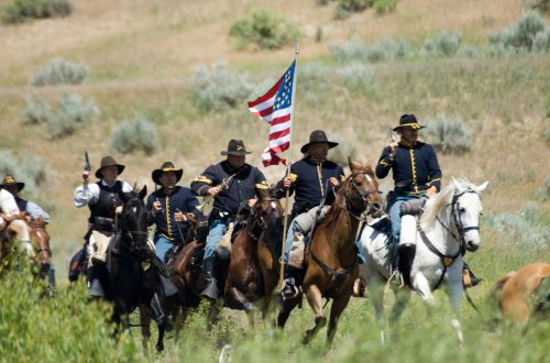 Charge of the US Cavalry