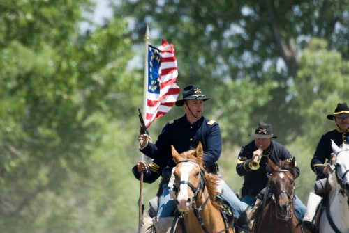 The US Cavalry Rides Again