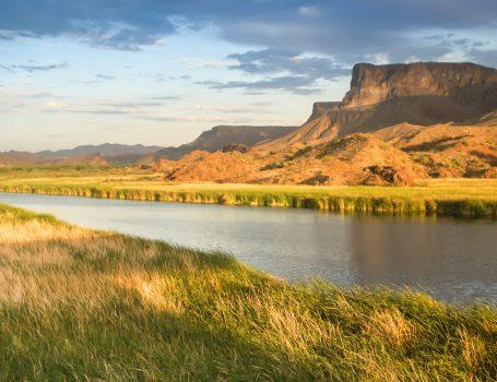 Desert Wetlands and Mesa