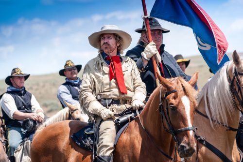Gen. George Custer at Little Bighorn