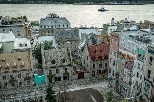 Old Quebec Lower City