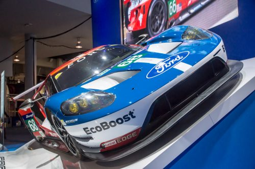 Ford Race Car at CES 2017