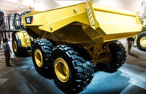 Large-Scale Dump Truck