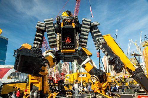 Excavator Robot